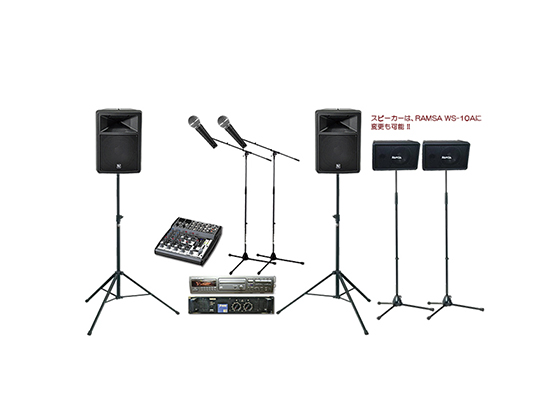 小規模アコースティックライブ音響