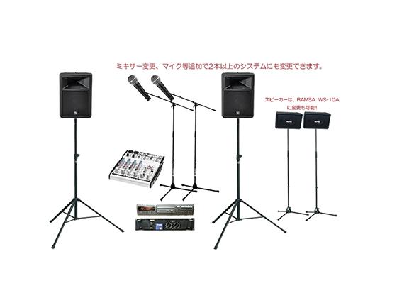 小規模トークショー音響レンタル