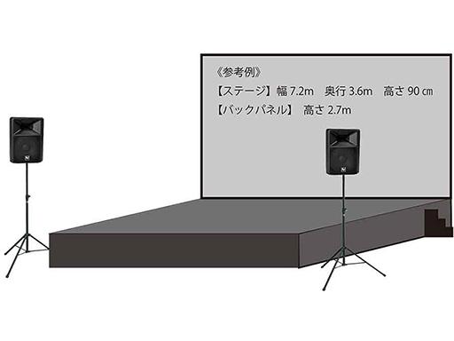 小ステージ製作音響