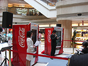日本コカコーラ商品発表会