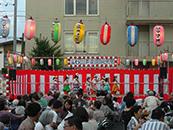 寿楽園老人ホーム納涼祭