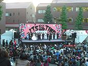 文教大学湘南キャンパス茸塔祭