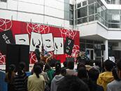 文教大学 越谷キャンパス 藍蓼祭 野外ステージ 音響レンタル