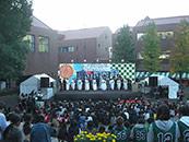文教大学 湘南 音響 照明 舞台製作 野外ステージ