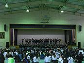 高校 文化祭 体育館  ダンス 音響レンタル