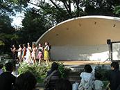 井の頭公園 音響レンタル ファッションショー