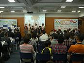 越谷 埼玉ガス協会 クッキングコンテスト 音響業務