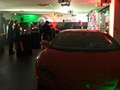 ランボルギーニ麻布 クリスマスパーティー 音響 照明レンタル