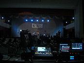 日大二高 文化祭 音響 照明業務 バンド