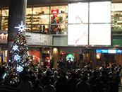 大泉学園 ゆめりあフォンテ ゴスペルコンサート クリスマス 点灯式 音響レンタル