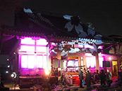 音響 照明レンタル 松戸 西蓮寺 さくらまつり