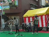 たまプラーザ 夏祭り 音響業務