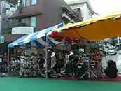 たまプラーザ 夏祭り 菅沼幸三 手数王 SATOKO ドリカム 音響レンタル