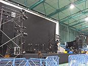 東海大学 建学祭 学園祭 ステージ製作 音響レンタル 照明レンタル