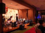 上野 精養軒 クリスマスジャズコンサート 音響レンタル